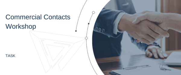 Commercial contracts workshop